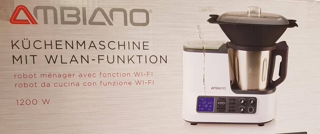 Robot de cuisine avec le wifi